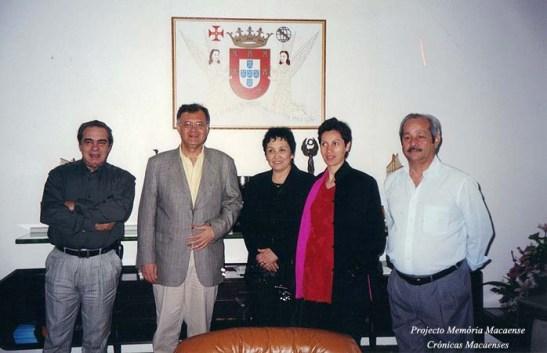 Matou as saudades do antigo símbolo do Leal Senado de Macau