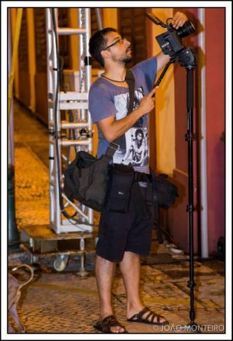 Sérgio N.Basto Perez em ação. Foto de João Monteiro publicada na página do Sérgio no Facebook (com a vossa licença, muito agradecido)