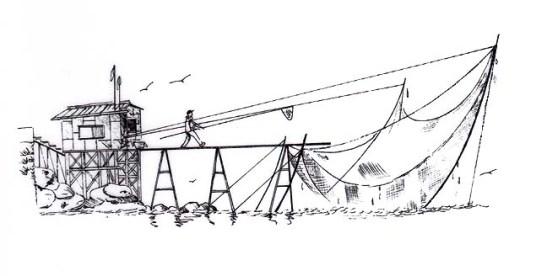 Desenho de Leonel de Barros