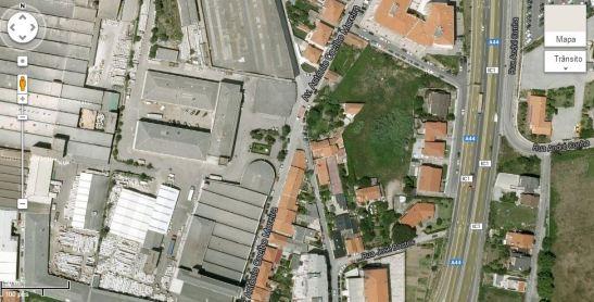 Mesma imagem, noutro ângulo, que capturei no Google Maps