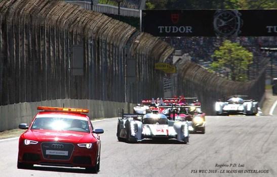 Acidente do Toyota provocou a entrada do pace-car por várias voltas