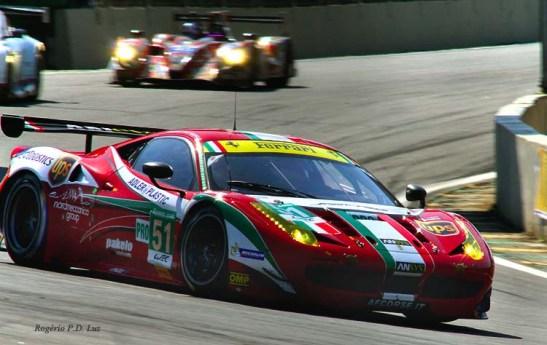 1º na categoria LMGTE Pro: Ferrari F458 Italia com os pilotos: Gianmaria BRUNI, Giancarlo FISICHELLA