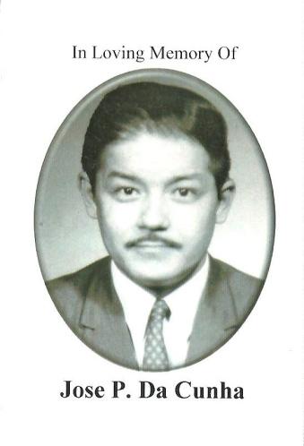 """José Policarpo da Cunha - """"Zeca Cunha"""""""
