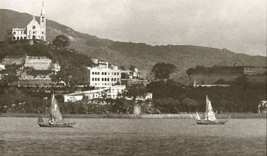 Macau 1950 - Colina da Penha