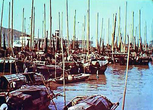 """tán-ká"" barcos-habitações"