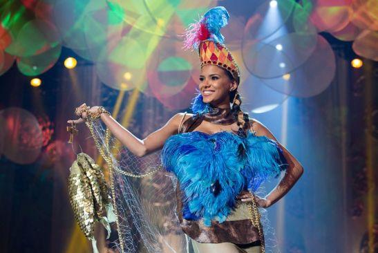 O traje típico da Miss Mato Grosso