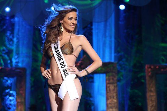 Miss Rio Grande do Sul, Vitoria Centenaro Foto: Carol Gherardi/ Band