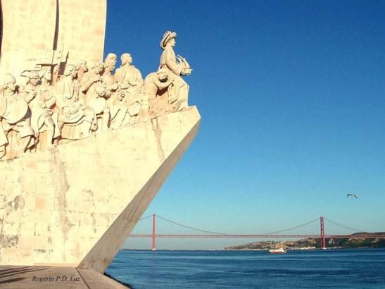 Monumento aos Descobrimentos em Lisboa, Portugal (foto Rogério P.D. Luz)