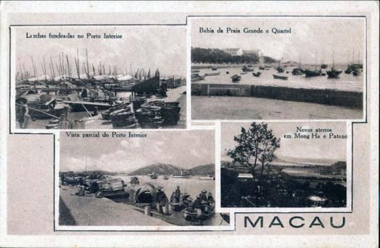 Postais Ilustrados 002_Macau