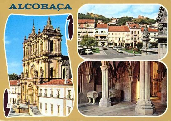 Postais ilustrados Alcobaça
