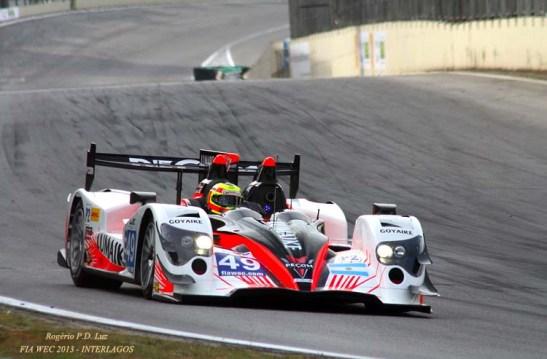 Oreca 03 - Nissan da LMP2, 3º colocado. Pilotos:  Luis PEREZ COMPANC, Nicolas MINASSIAN, Pierre KAFFER