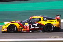 Disputando a categoria LMGTE: Patrick BORNHAUSER, Julien CANAL, Fernando REES com Chevrolet Corvette C6-ZR1