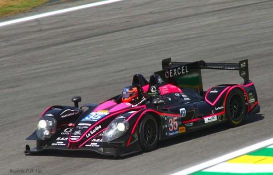 2º colocado no LMP2: Morgan-Nissan com os pilotos: Bertrand BAGUETTE, Ricardo GONZALEZ, Martin PLOWMAN