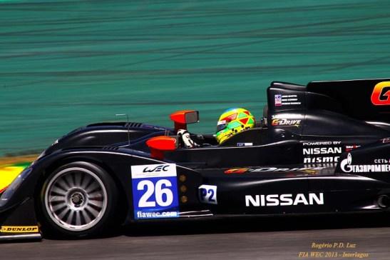 1º colocado na categoria LMP2: Oreca 03 - Nissan com os pilotos: Roman RUSINOV, John MARTIN, Mike CONWAY