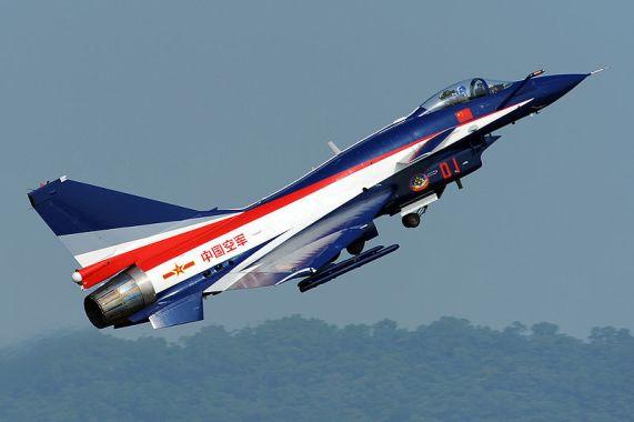 Jato de guerra Chengdu J-10
