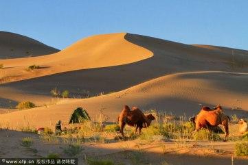 China Deserto de Badain Jaran (01)