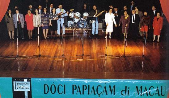 Dóci Papiaçám di Macau, 20 anos atrás