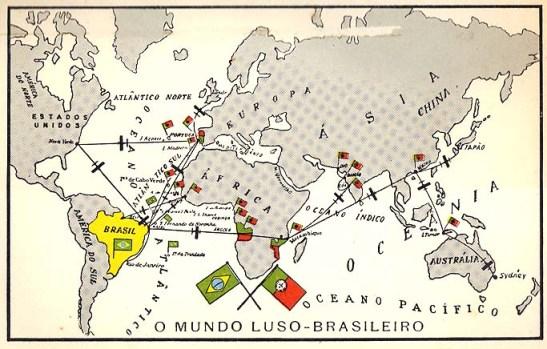 Imagem do livro Terras onde se fala Português, de Maria Archer