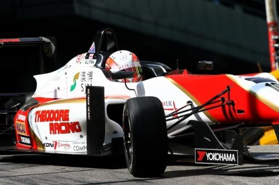 GP Macau 2013 F3 corrida.Alex Lynn