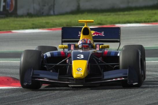 Félix da Costa na Fórmula Renault 3.5 Series classificando-se em 3º no campeonato de 2013.  Foto do site oficial do piloto - http://www.felixdacosta.com/