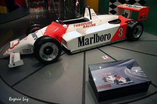 GP Macau 2013 Senna no museu