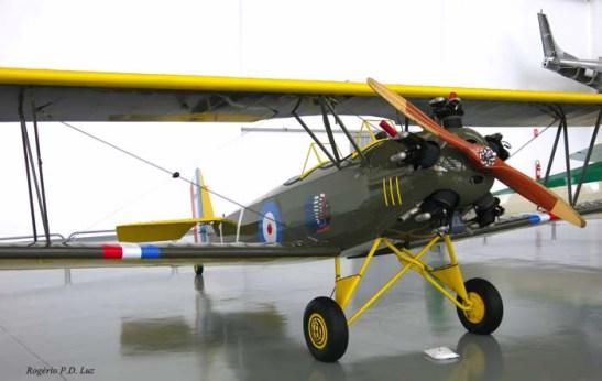 O Fleet II da aviação do Canadá de 1931. Um avião civil e militar.