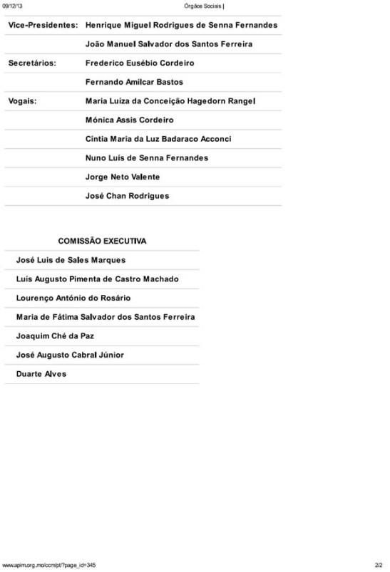 Conselho Comunidades Macaenses orgaos sociais 2013 edit (02)