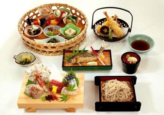 Culinaria japonesa apresentacao