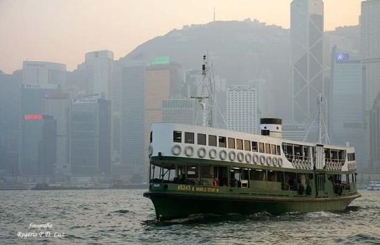 Star Ferry - ligação Hong Kong-Kowloon