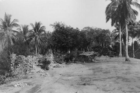 Fonte: Wikimeda Commons - COLLECTIE TROPENMUSEUM Ruines van een Portugees fort uit de 16e eeuw op Poelau Ende Midden-Flores TMnr 10001790.jpg
