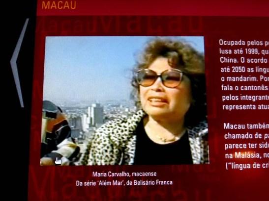 Maria (Mariazinha) Lopes Carvalho, macaense de São Paulo, fala sobre as procissões religiosas em Macau