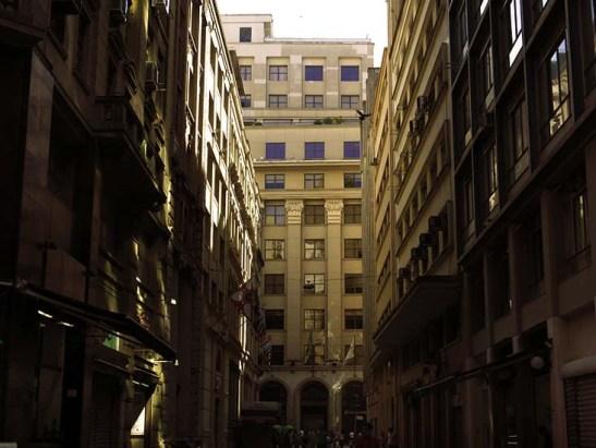 Prédios do centro de São Paulo, área comercial-financeira e de bancos