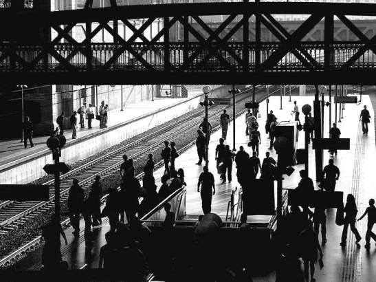 Estação da Luz, de trens/comboios, em São Paulo