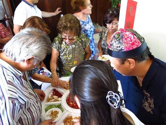 Iguarias ou comisainas chinesas eram rapidamente consumidos