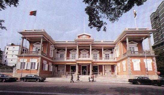 Palácio do Governo ainda do tempo da administração portuguesa.