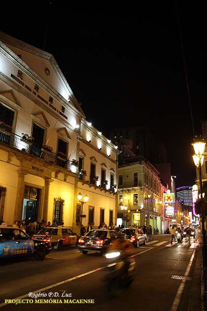 SAN MÁ LOU (é a denominação em chinês-cantonense para a Avenida Almeida Ribeiro)