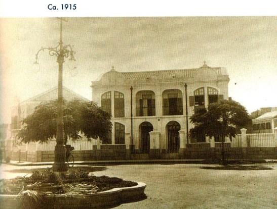 Macau cem anos mudaram Rotunda 3 Candeeiros 1915