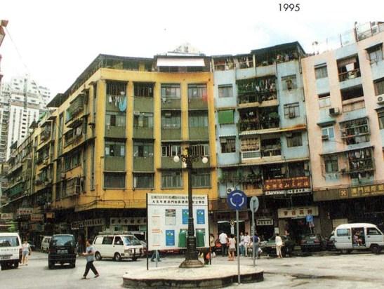Macau cem anos mudaram Rotunda 3 Candeeiros 1995