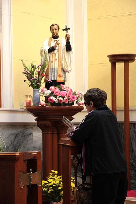 Imagem de São Francisco Xavier na Sé Catedral em Macau