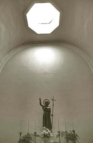 Imagem de São João Baptista na Sé Catedral, em Macau