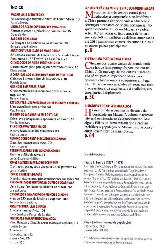 Revista Macau.Dezembro 2013 (02)