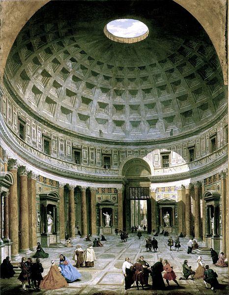 Imagm da Wikimedia Commons, de Giovanni Paolo Pannini (1691–1765)
