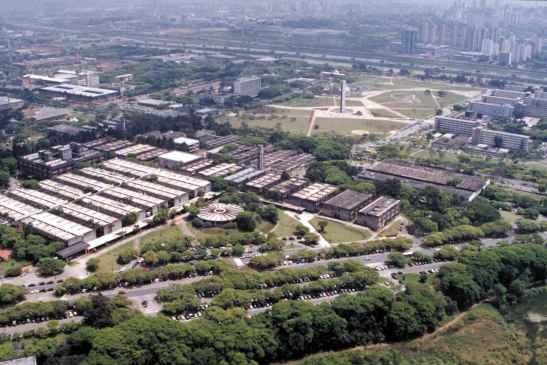 Cidade Universitária da USP em São Paulo