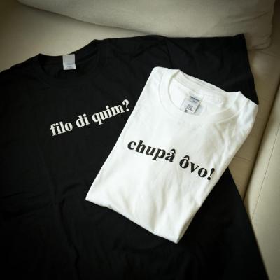 Doci Papiaçam chupa ovo camisetas
