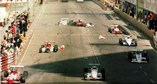 GP Macau 1985 Mauricio Gugelmin (5)