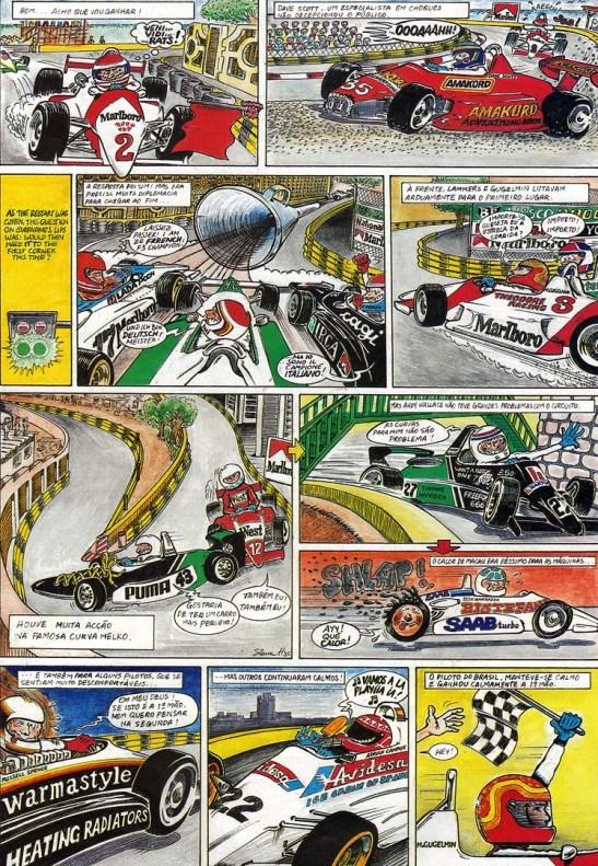 GP Macau 1985 quadrinhos (2)