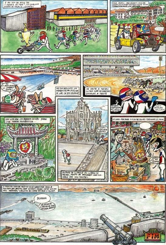 GP Macau 1985 quadrinhos (4)