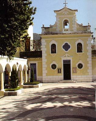 A Igreja de São Francisco Xavier na Ilha da Taipa, em Macau (imagem do livreto da Catholic Lay Association of Macao)