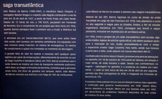 Histórico no Museu TAM
