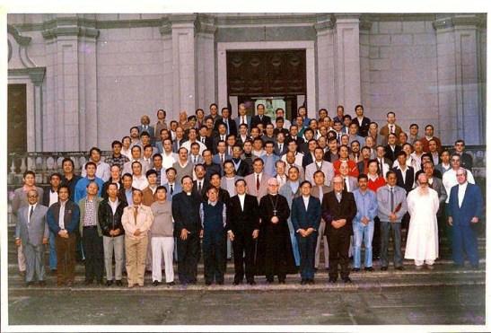 Foto do possível primeiro convívio dos antigos alunos do SSJ (a confirmar)